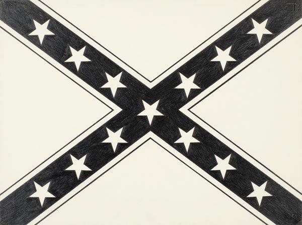 64:  BANKS  VIOLETTE  b. 1973  Upside Down Confederate