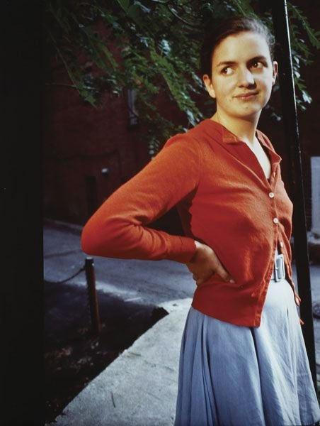 293:  NAN  GOLDIN  b. 1953  Siobhan Standing Lamppost,