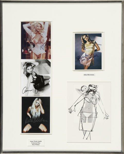 299:  RICHARD  PRINCE  b. 1949  Untitled, 1999  Five 8