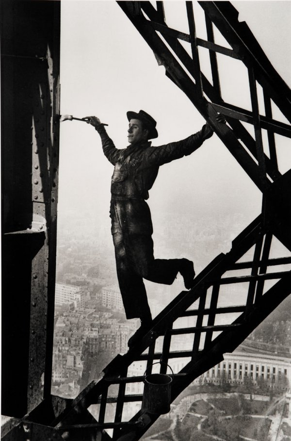 3:  MARC  RIBOUD  b. 1923  Painter of the Eiffel Tower,