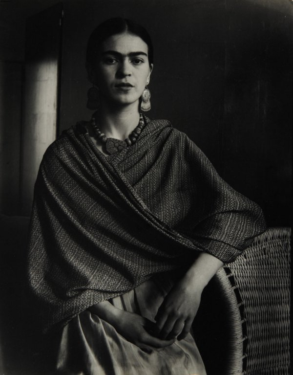 14:  IMOGEN  CUNNINGHAM  1883-1976  Frida Kahlo Rivera,