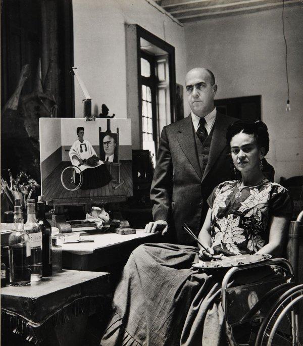 15:  GISELE  FREUND  1912-2000  Portrait of Frida Kahlo