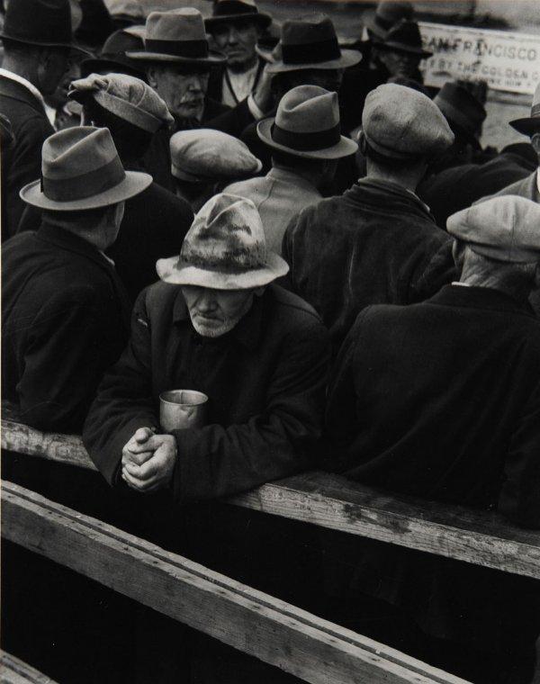 22:  DOROTHEA  LANGE  1895-1965  White Angel Bread Line