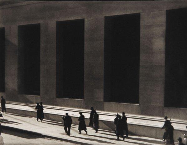 39:  PAUL  STRAND  1890-1976  Wall Street, New York, 19