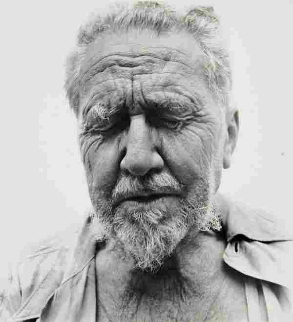 RICHARD AVEDON 1923-2004 Ezra Pound at the Home