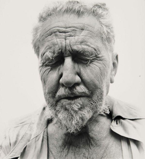 73:  RICHARD  AVEDON  1923-2004  Ezra Pound at the Home