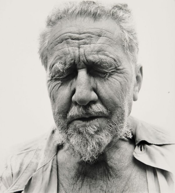 73:  RICHARD  AVEDON  1923-2004  Ezra Pound at the Home