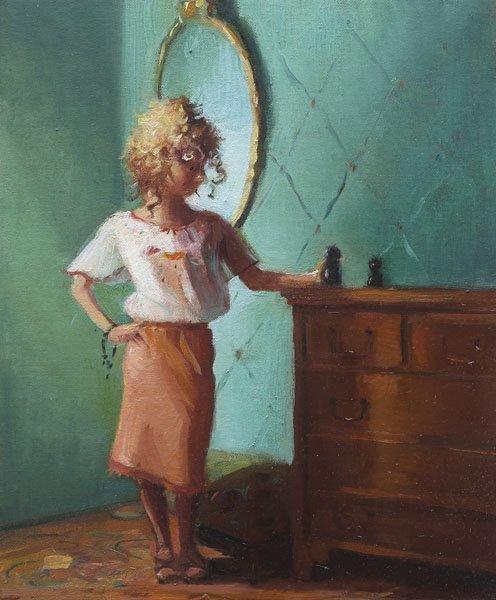 101:  LISA  YUSKAVAGE  b. 1963  Little Curlie II, 2003