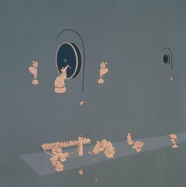 107:  INKA  ESSENHIGH  b. 1969  Wheel of Fortune, 1997