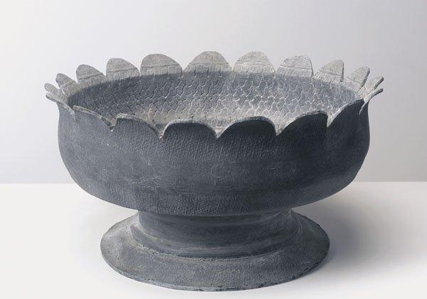 112:  RICHARD  PRINCE  b. 1949  Tire Planter (Grey), 20