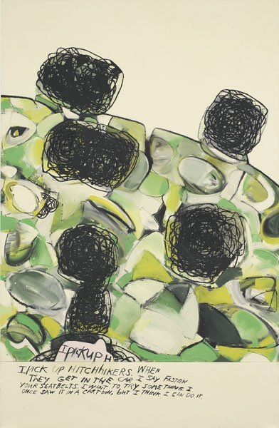 113:  RICHARD  PRINCE  b. 1949  Untitled, 1996  Acrylic