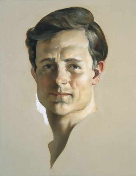 114:  JOHN  CURRIN  b. 1962  The King, 2002  Oil on can