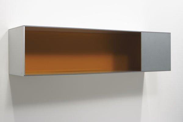 124:  DONALD  JUDD  b. 1928-1994  Untitled, 1987  Alumi