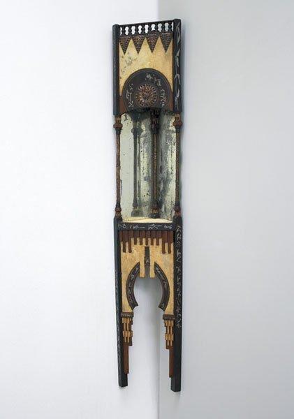 2:  CARLO  BUGATTI  1855-1940  Corner shelf, ca. 1902