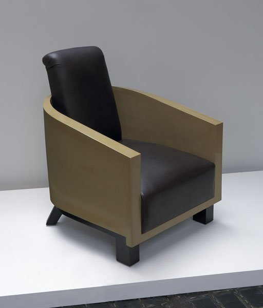 5:  LOUIS  SOGNOT  1892-1970  Rare lounge chair, ca. 19