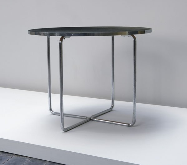 10:  MARCEL  BREUER  1902-1981  Table, model no. B27, c