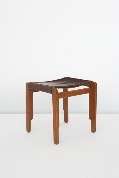 12:  JOSEF  ALBERS  1888-1976  Stool, made by Howard De