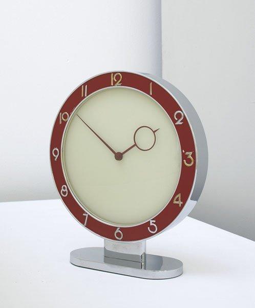 13:  HEINRICH  MÖLLER    Table clock, ca. 1935  La