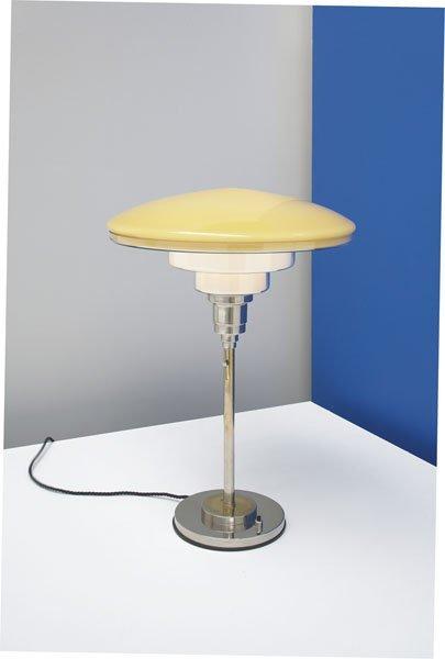 16:  C. F. OTTO  MÖLLER    Table lamp, ca. 1930  N