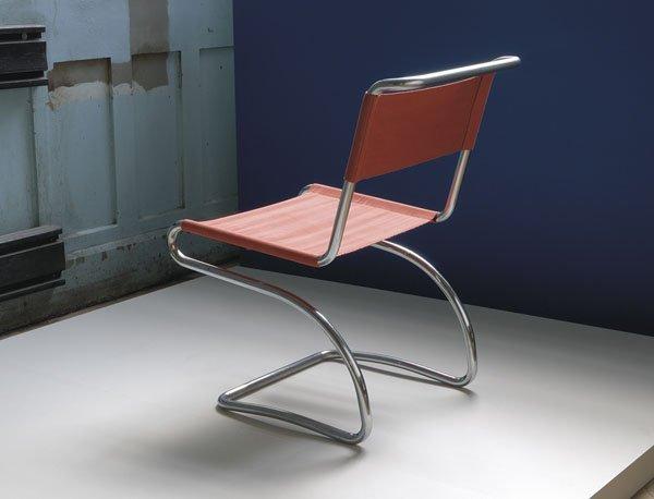 17:  JINDRICH  HALABALA  1903-1978  Side chair, 1930s