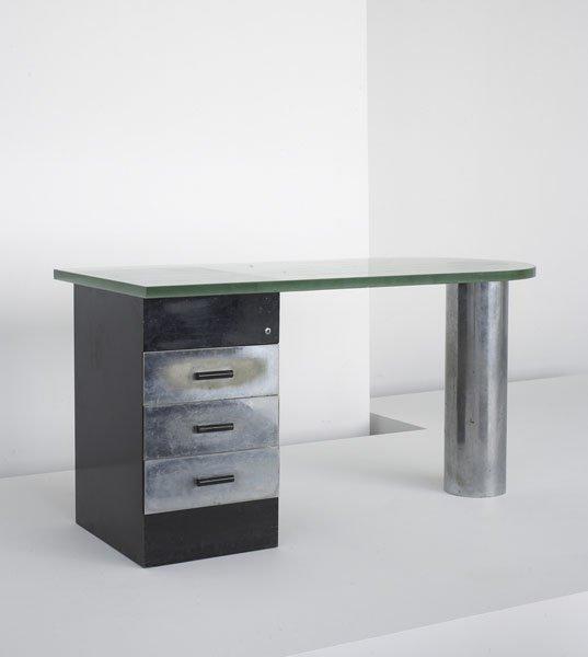 18:  BRUNO  WEIL  d. 1962  Desk, model no. B286, 1930s