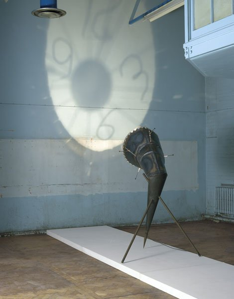 "202:  RON  ARAD  b. 1951  ""Shadow of Time"" projecting w"