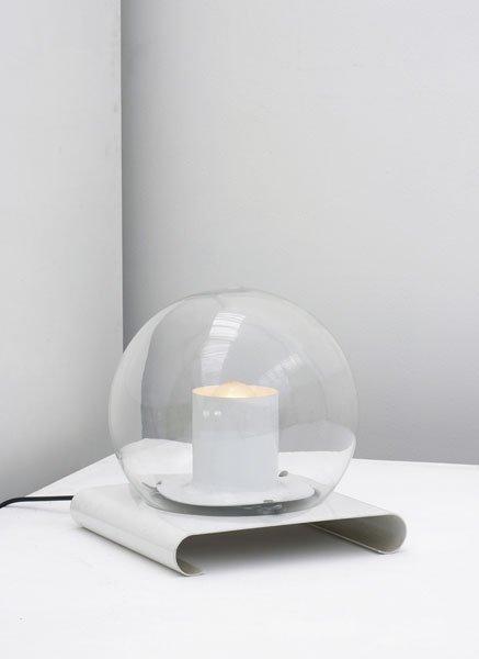 """219:  JOE  COLOMBO  1930-1971  """"Aton"""" table lamp, ca. 1"""