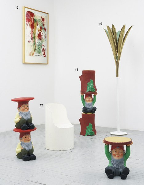 "1011:  PHILIPPE  STARCK  b. 1949  Four ""Gnome"" stools t"