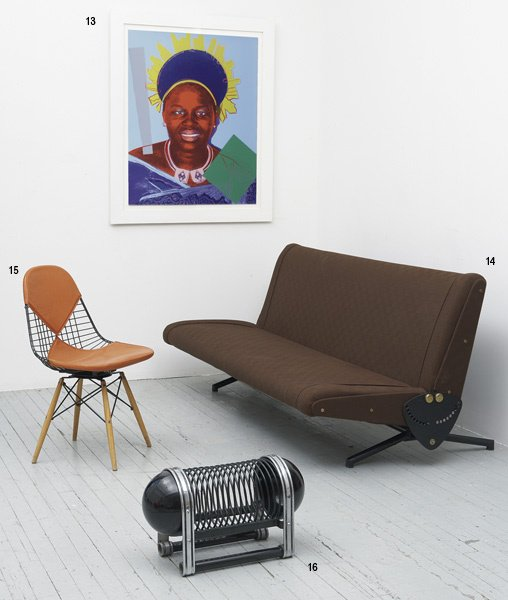 1013:  ANDY  WARHOL  1928-1987  Queen Ntombi Twala of S