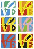 1137: ROBERT INDIANA b. 1928 The Book of Love (A Po