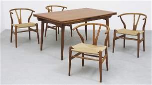 1362: HANS J. WEGNER b. 1914 Extension dining table