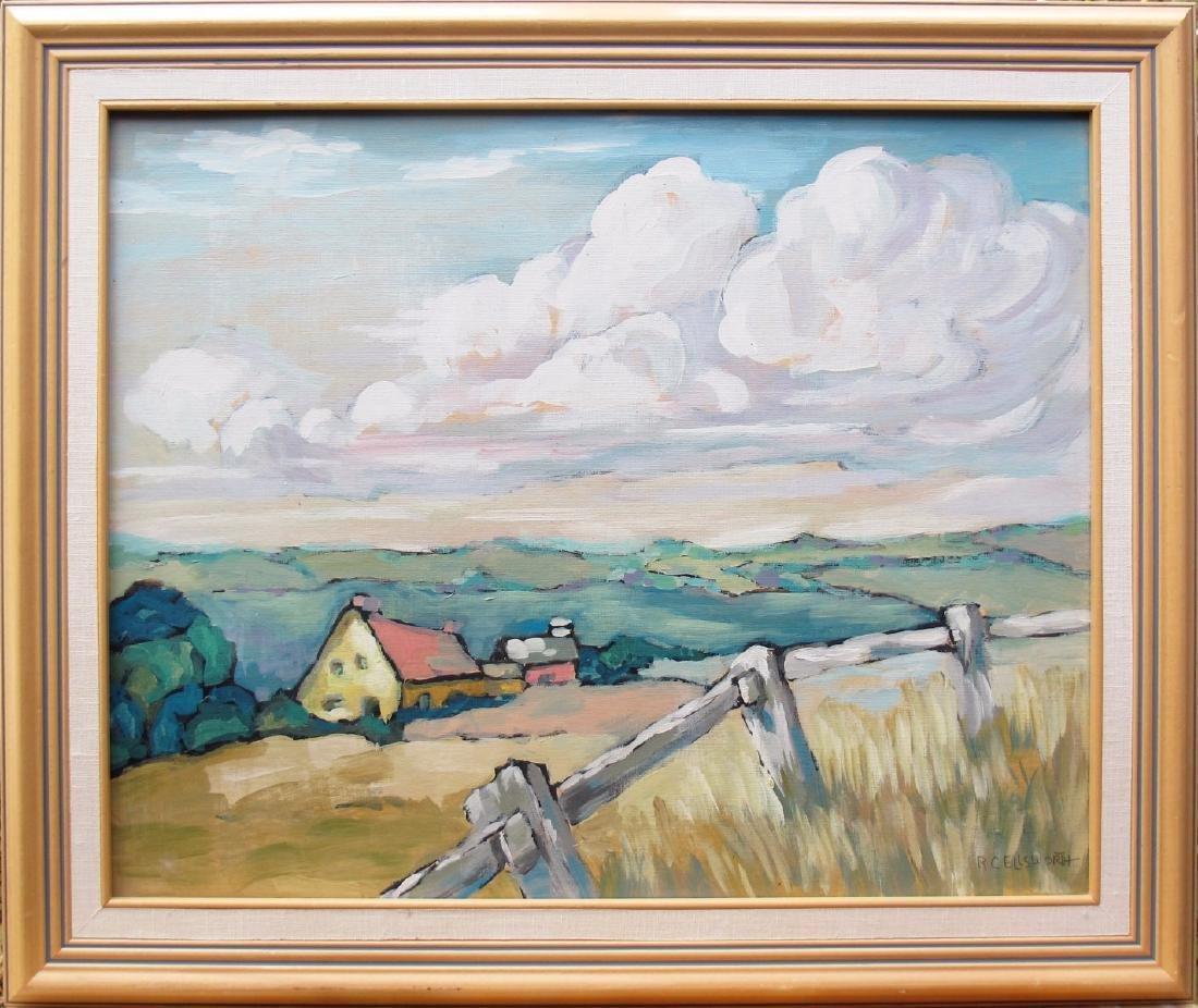 pastel farm