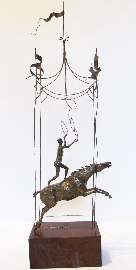 acrobat on horse