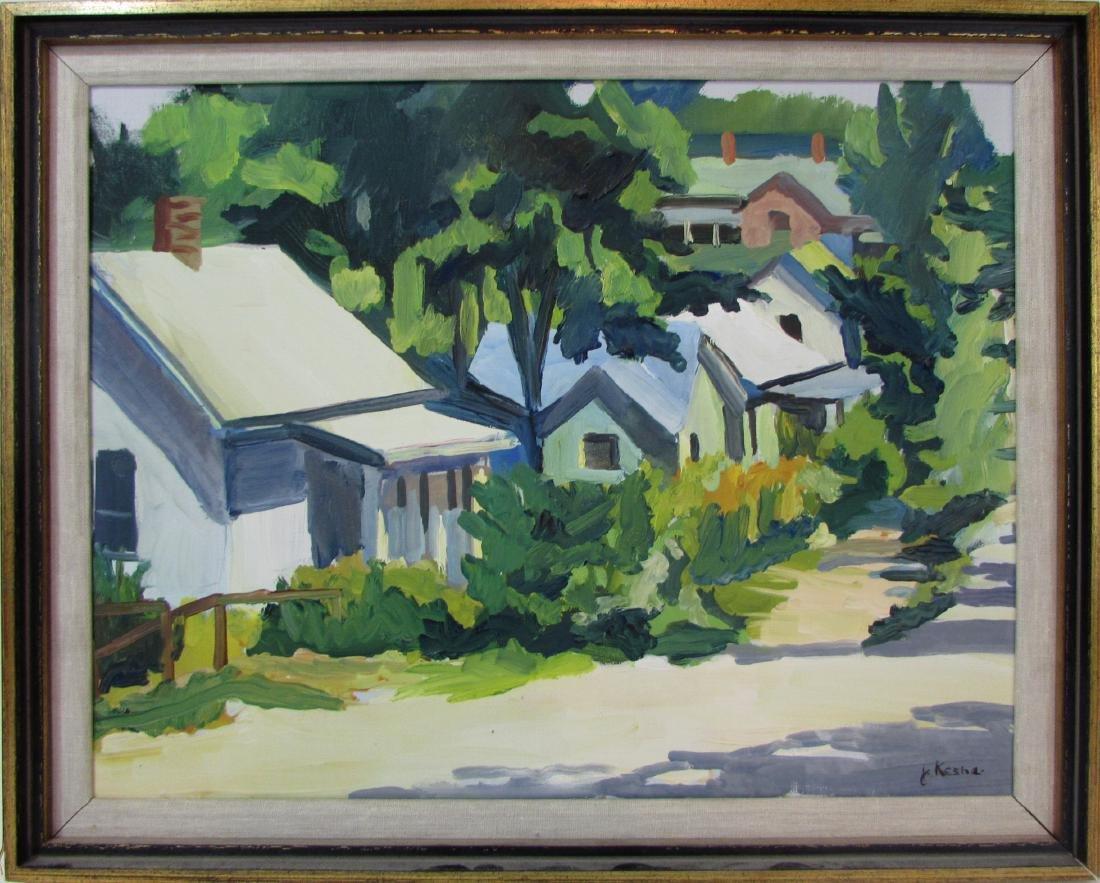 Janet Kesha, oil on canvas, untitled