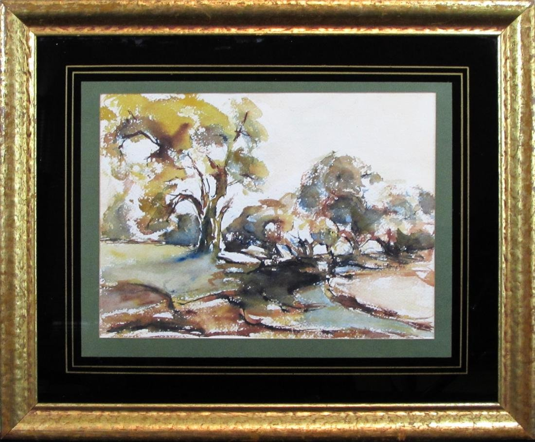 Bea Edgington, watercolor, untitled