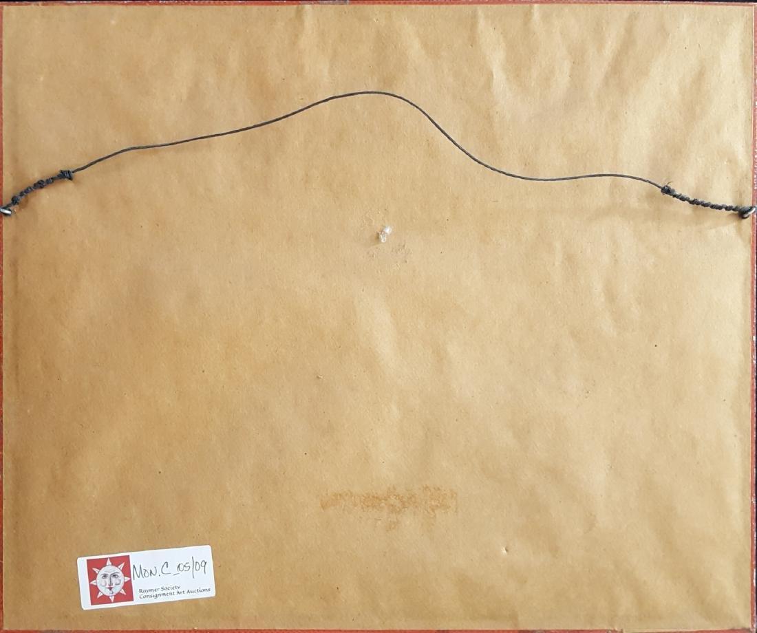 Sandzen, Birger - linoleum cut print, 1941/1942 - 2