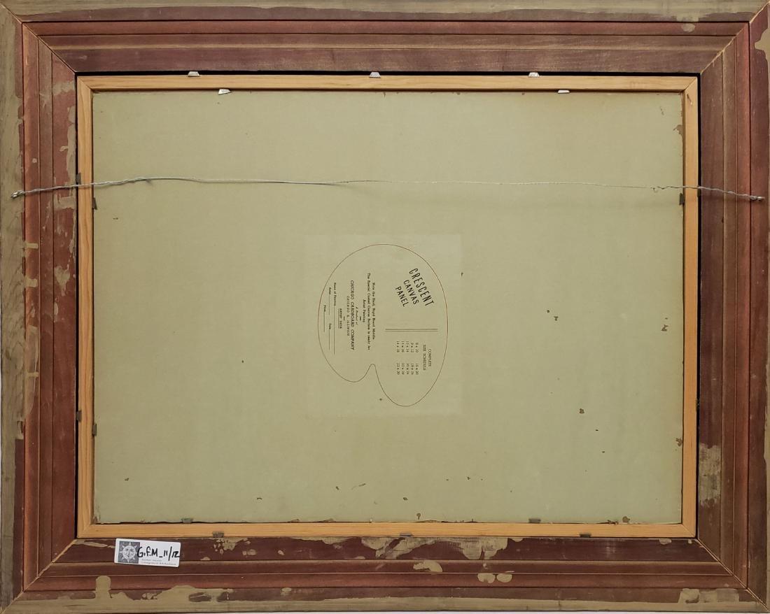 Jaderborg, Hilding - oil on canvas board, good - 3