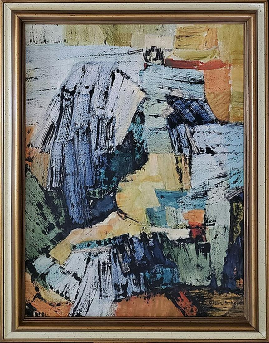 Runbeck, Dolores Gaston - oil on canvas, good