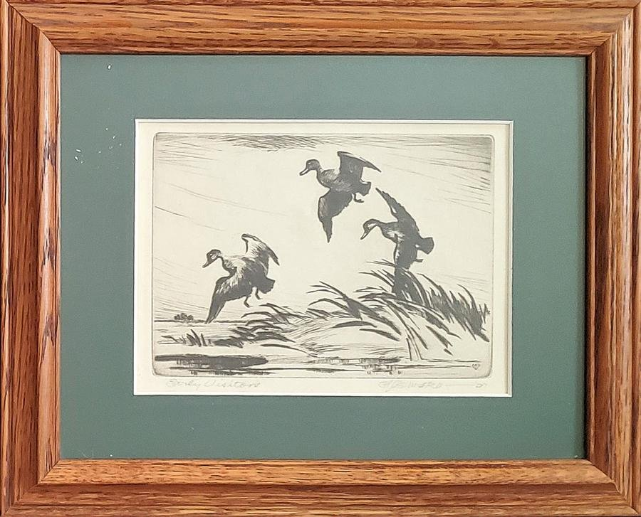 Seward, C.A. - etching, good condition, 4.75x6.75.