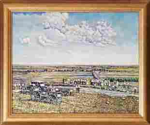 Bergers, John Blake - oil, good condition, 16x20