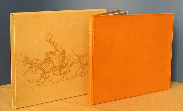 56: Harry Jackson: Monograph. w/ signed etching.