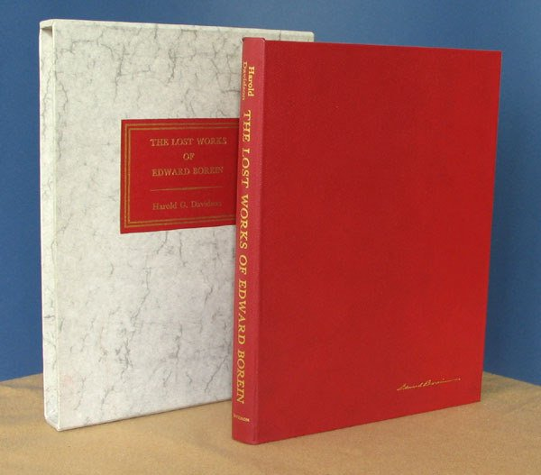 10: The Lost Works of Edward Borein. Ltd, Signed.