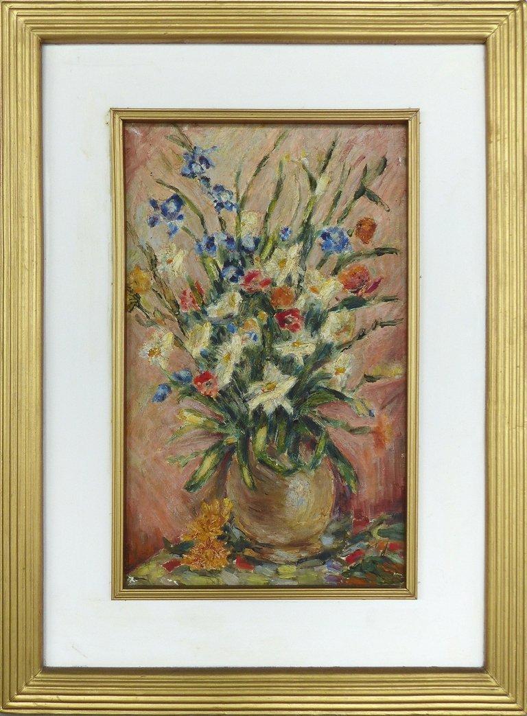 Midcentury Modern Floral Art