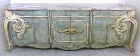 Fine Quality Faux-painted Buffet Karges Style