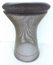 Knoll International Warren Platner Wire Stool / Table
