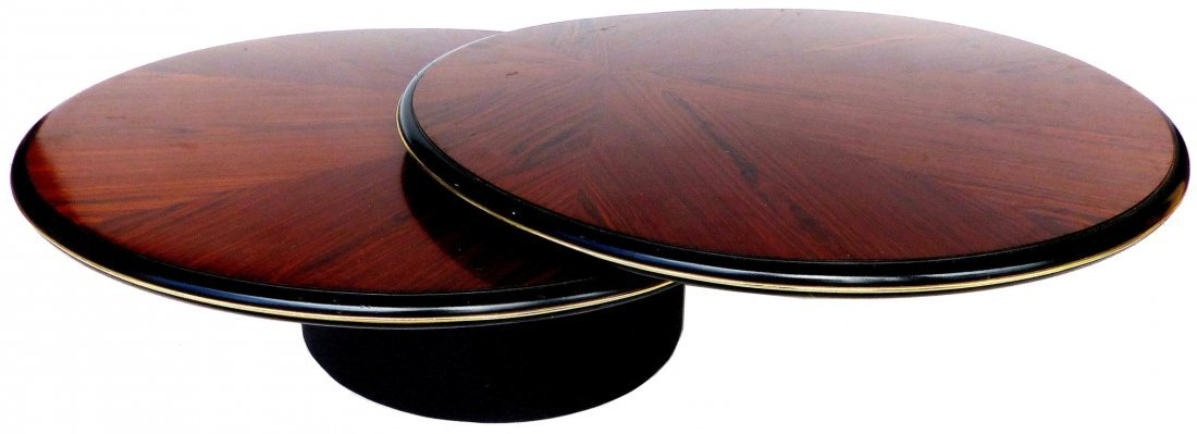Mid-century Lane Rosewood Expandable Coffee Table
