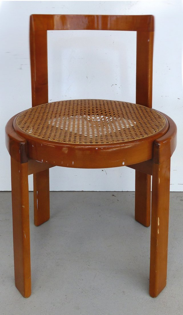 Lacquered Bentwood Side Chairs Set of 4 - 5