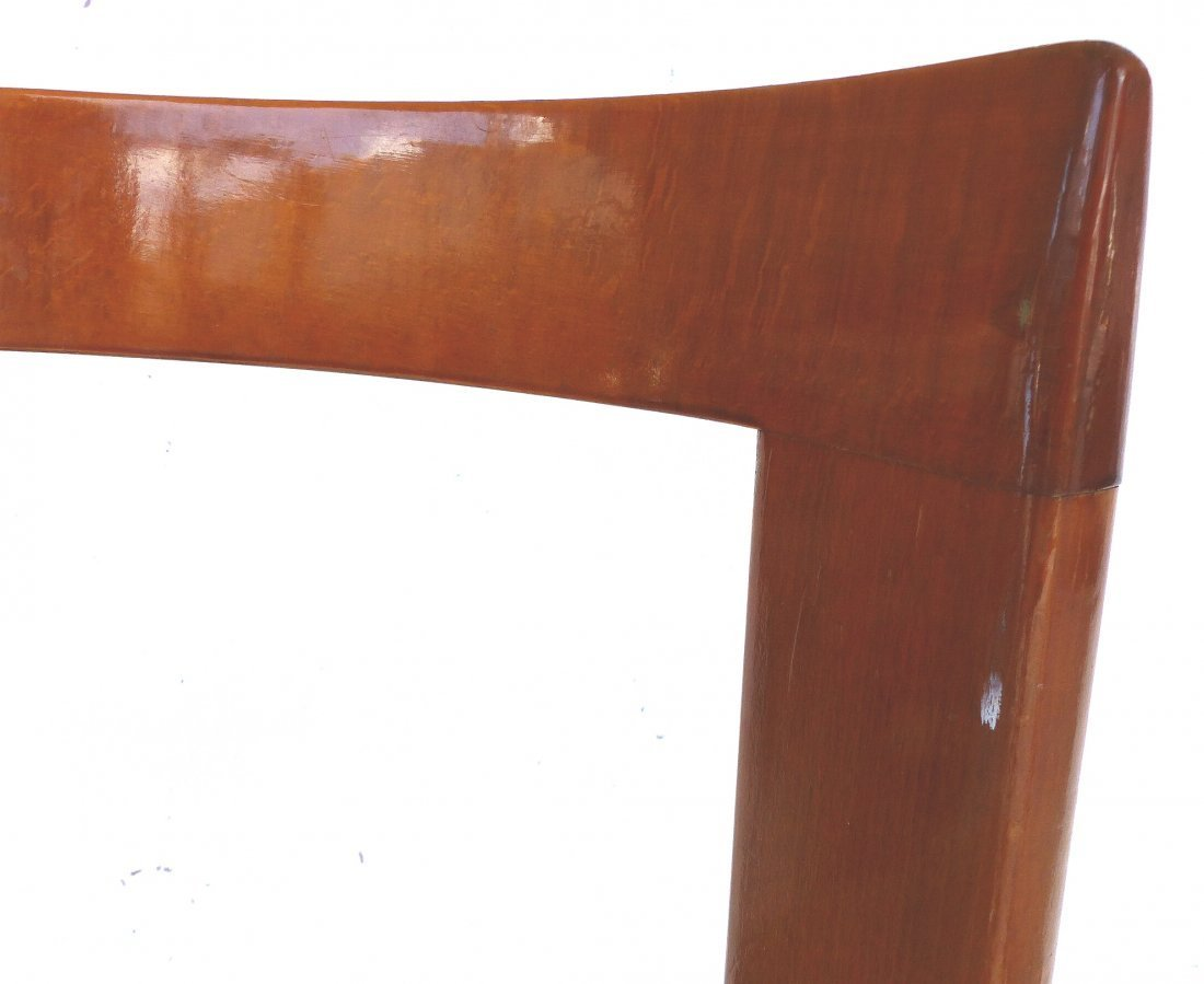 Lacquered Bentwood Side Chairs Set of 4 - 6
