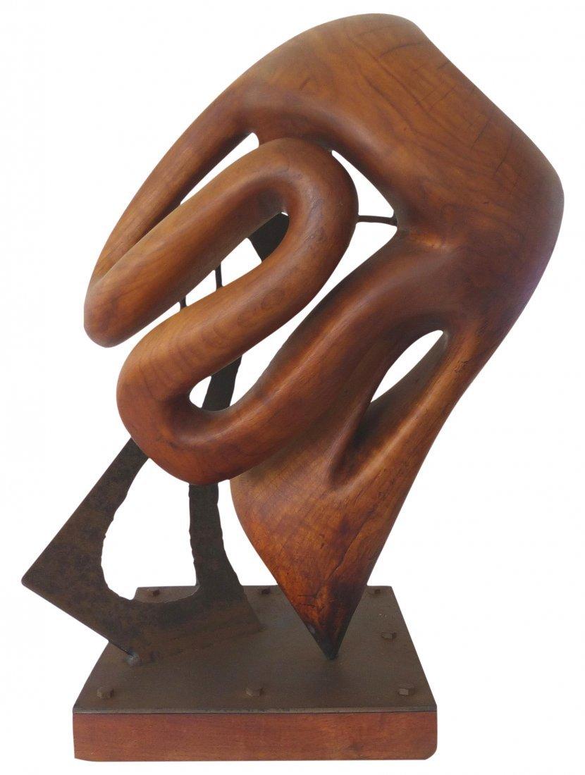 Michael Moser Vintage 1980 Modernist Sculpture