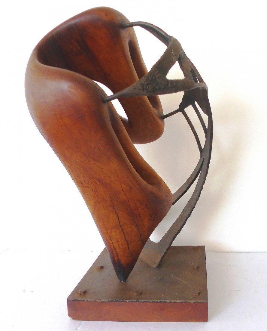 Michael Moser Vintage 1980 Modernist Sculpture - 2